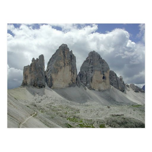 Three Zinnen Mountains Postcards