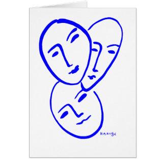 threemasks card