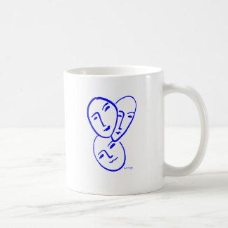 threemasks coffee mug