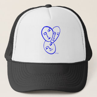 threemasks trucker hat