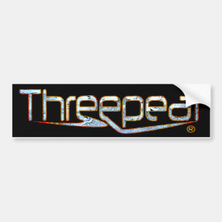Threepeat Bumper Sticker