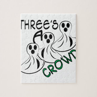 Threes A Crowd Jigsaw Puzzle