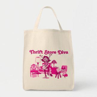 Thrift Store Diva Shopping Bag