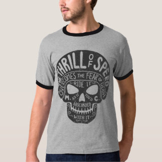 Thrill of Speed Skull T-Shirt