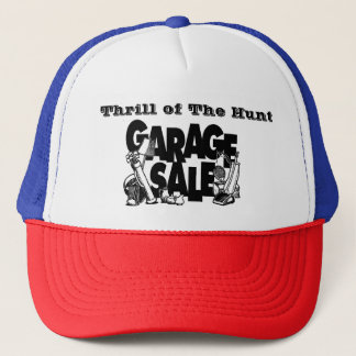Thrill of The Hunt Garage Sale Truckers Ha Trucker Hat