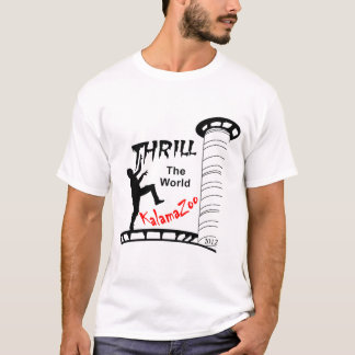 Thrill The World Kalamazoo 2012 T-Shirt