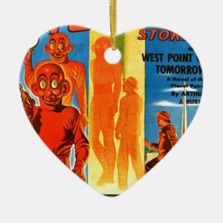 Thrilling Wonder Stories -- Future Westpoint Ceramic Ornament