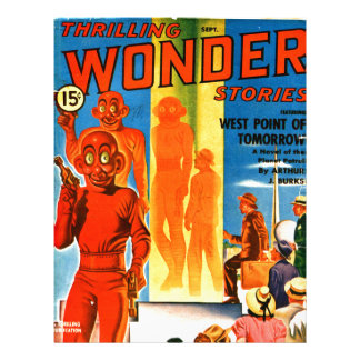 Thrilling Wonder Stories -- Future Westpoint Letterhead