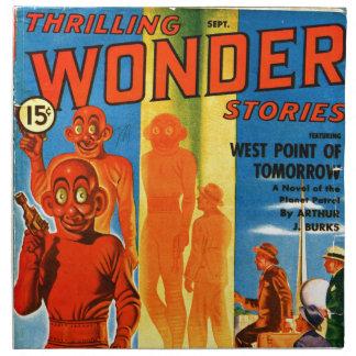 Thrilling Wonder Stories -- Future Westpoint Napkin