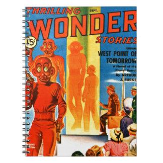 Thrilling Wonder Stories -- Future Westpoint Notebooks