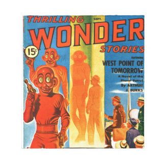 Thrilling Wonder Stories -- Future Westpoint Notepad