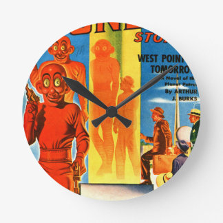 Thrilling Wonder Stories -- Future Westpoint Round Clock