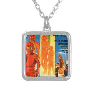 Thrilling Wonder Stories -- Future Westpoint Silver Plated Necklace