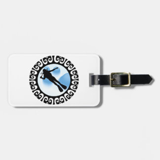 THRILLS FROM DIVING LUGGAGE TAG