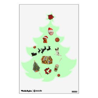 Thristmas Tree Wall Sticker