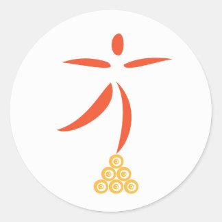 Thrive Badge Classic Round Sticker