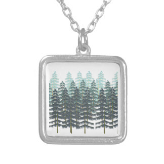 THRIVE IN FOREST SILVER PLATED NECKLACE