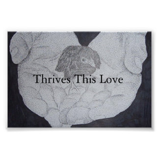 thrives this love poster