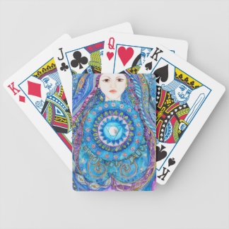 Throat Chakra Bicycle Playing Cards