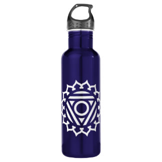 Throat Chakra Energy 710 Ml Water Bottle
