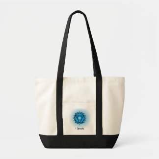 Throat Chakra Impulse Tote Bag