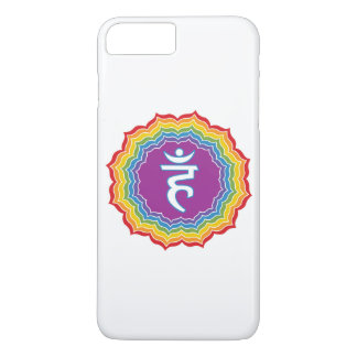 Throat chakra iPhone 7 plus case