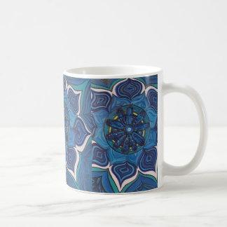 Throat Chakra Lotus Flower Coffee Mug