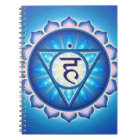 Throat Chakra Notebook