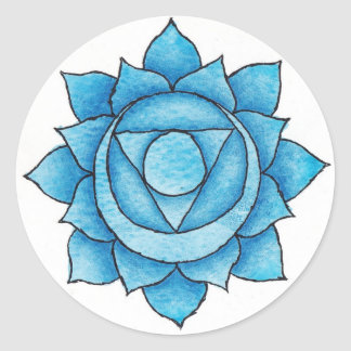 Throat Chakra Sticker