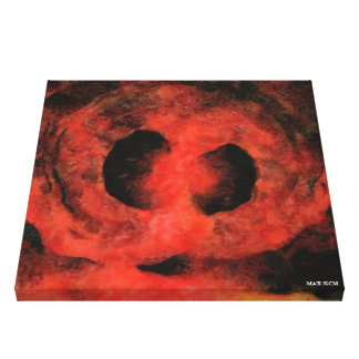 Throat/Disunion Canvas Print