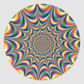 throbbing-fractal-optical-illusion STICKER