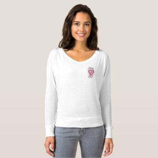 Through His Love Breast Cancer Pocket Tee