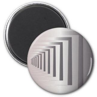through open gates 2 inch round magnet