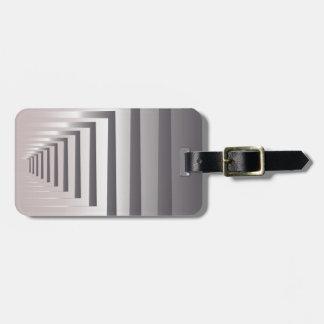 through open gates luggage tag