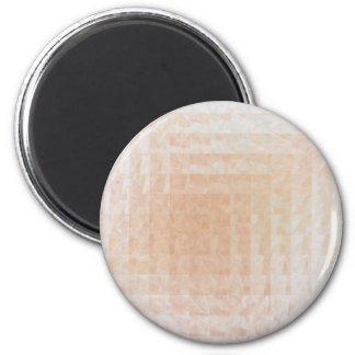 Through Patterned Glass 2 Inch Round Magnet