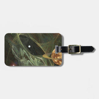 Through Space Luggage Tag