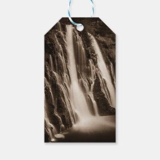 Through the Cracks Burney Falls Gift Tags
