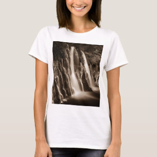 Through the Cracks Burney Falls T-Shirt