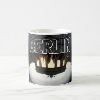 Through the crystal ball 001.8.2, Brandenburg Gate Coffee Mug