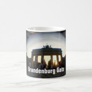 Through the crystal ball 01.09.3, Brandenburg Gate Coffee Mug