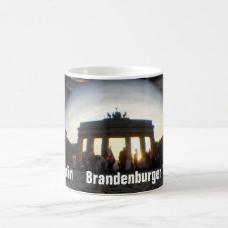 Through the crystal ball 01.09.4, Brandenburg Gate Coffee Mug