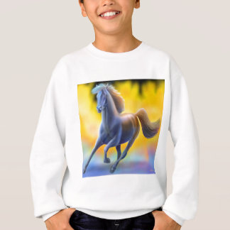 Through the Fire Horse Kids Sweatshirt