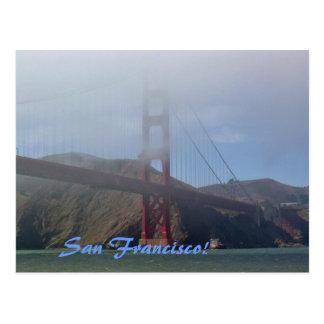 Through the Fog Postcard