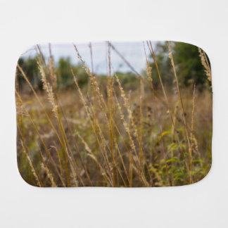Through The Grass Tops Burp Cloth