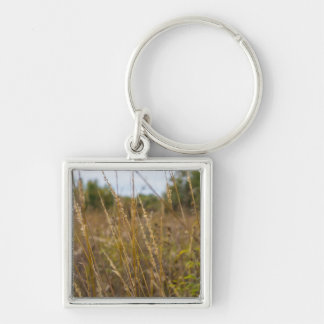 Through The Grass Tops Keychain