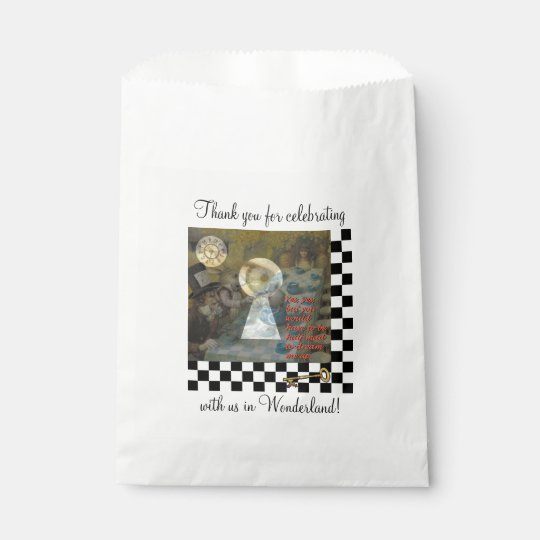 Through the Keyhole Favour Bag