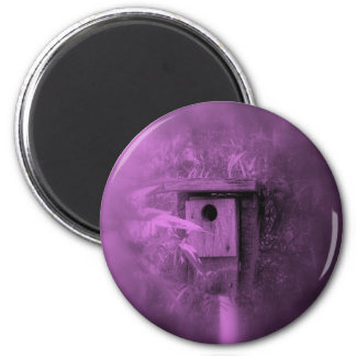 Through the looking glass 2 inch round magnet