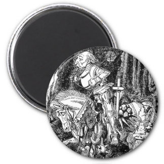 Through The Looking Glass - Design 1 Magnet