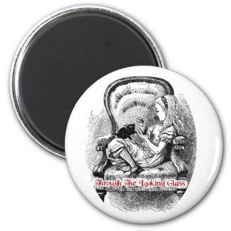 Through The Looking Glass - Design #2 2 Inch Round Magnet