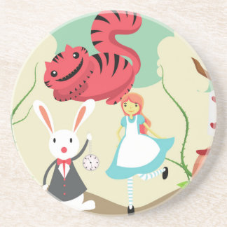 Through The Looking Glass Drink Coasters